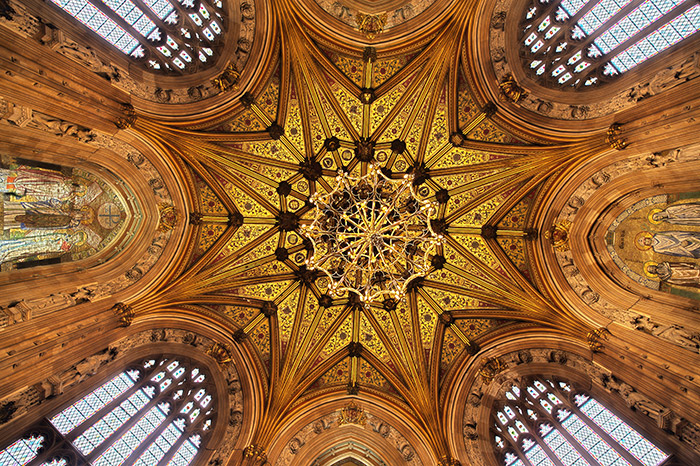 The central lobby of the Houses of Parliament. Photo: Catherine Bebbington