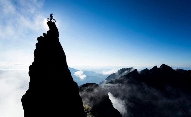 Chris Prescott – Danny-MacAskill 'The Inaccessible Pinnacle' Isle of Skye, Scotland. Landscape Photographer of the Year awards