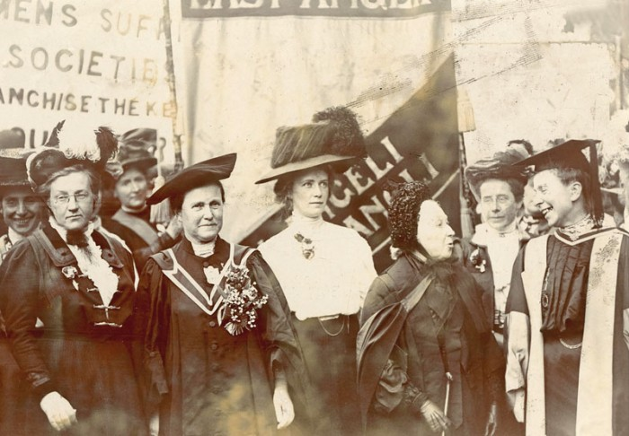 Suffragists in 1908