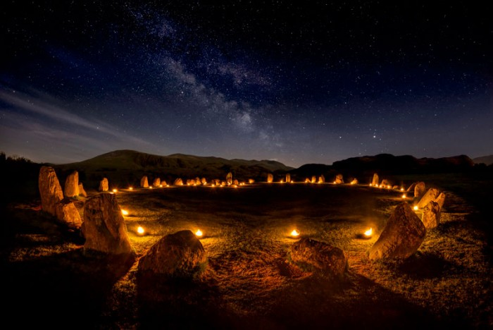 Gary Waidson – 'Circle of Fire' The Carles, Cumbria, England. Your View 2016. Landscape Photographer of the Year awards
