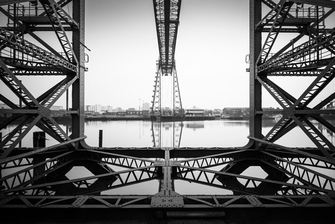 Mark Voce – 'The Tees Transporter Bridge' Middlesborough, England. Urban View 2016. Landscape Photographer of the Year awards