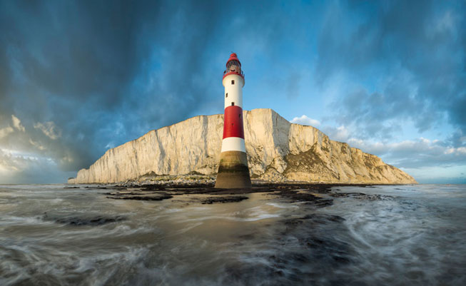 Mirek Galagus 'The Guardian of the Island' Beachy Head, East Sussex. Classic View 2016. Landscape Photographer of the Year awards