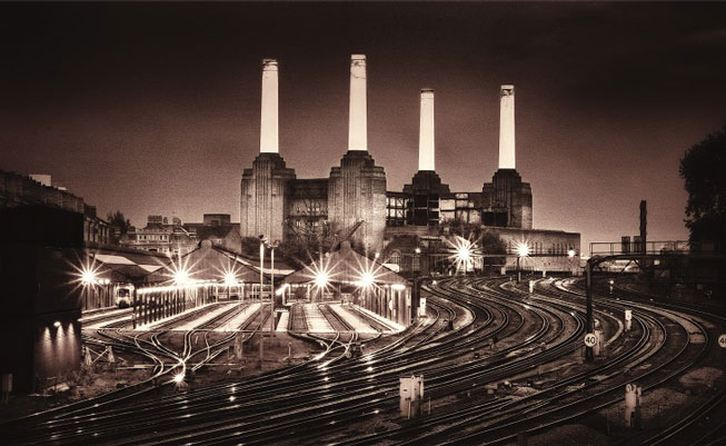 Neil Williams 'Battersea Power Station from Victoria'. Classic View 2008. Landscape Photographer of the Year awards