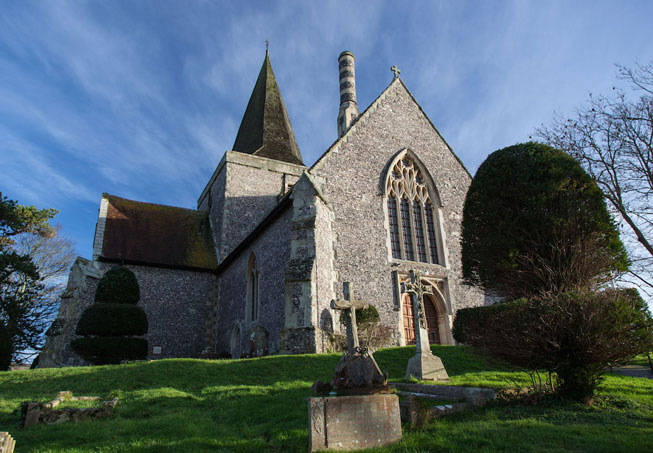 St Andrew, Alfriston in East Sussex