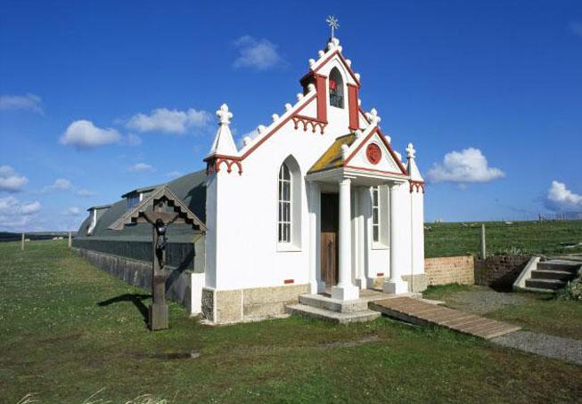 The Italian Chapel, Orkney, Scotland