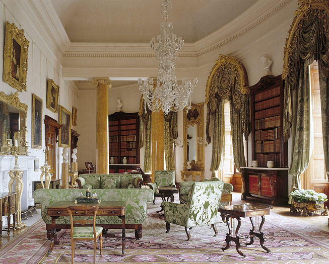 The library at Ickworth, Suffolk. Credit: National Trust Images/Andreas von Einsiedel