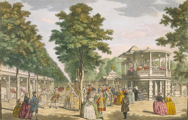 Vauxhall Gardens. Credit: Heritage Image Partnership Ltd /Alamy