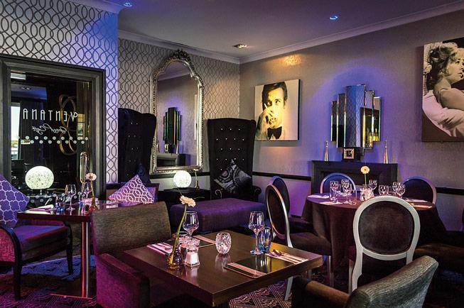 Ventana Grand Cafe at the Cumberland Hotel, Bournemouth