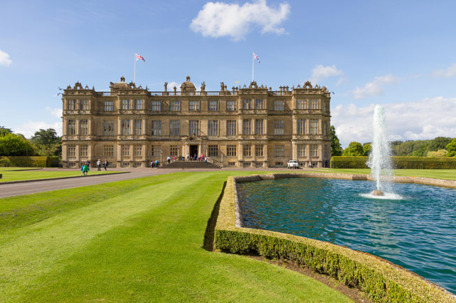 Longleat House in Wiltshire. Credit: Andrew Barker/Alamy