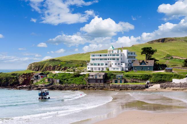 Burgh Island Hotel. © Ian Dagnall/Alamy