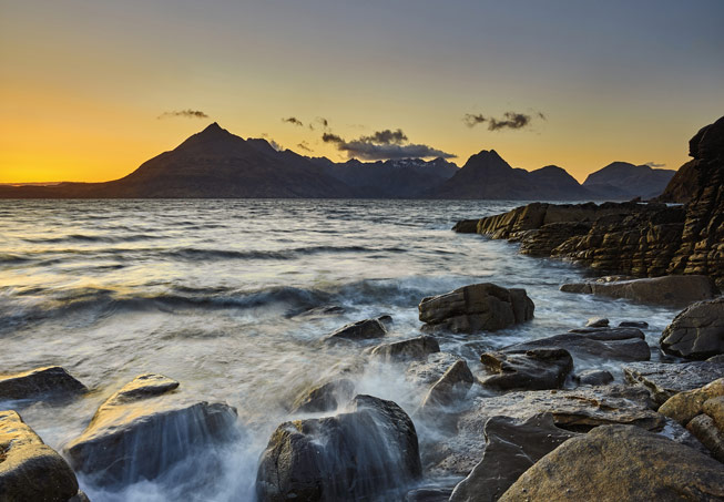 Elgol, Isle of Skye. Credit: Shabaz Majeed, Scotland in Photographs