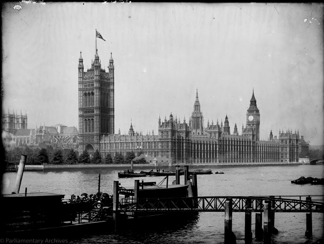 Houses of Parliament, London. Credit: Houses of Parliament ©Parliamentary Archives, FAR/1/2
