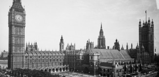 Big Ben and the Houses of Parliament. Credit: Houses of Parliament ©Parliamentary Archives, FAR/4/1