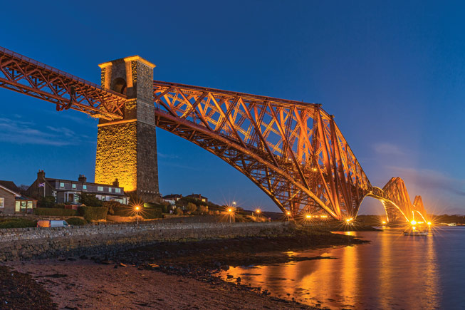 Forth Bridge. Credit: Shabaz Majeed, Scotland in Photographs