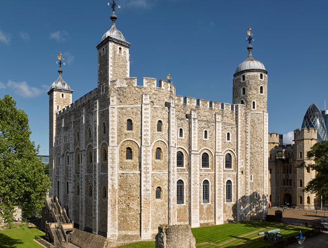 The White Tower at the Tower of London. Credit: © Historic Royal Palaces