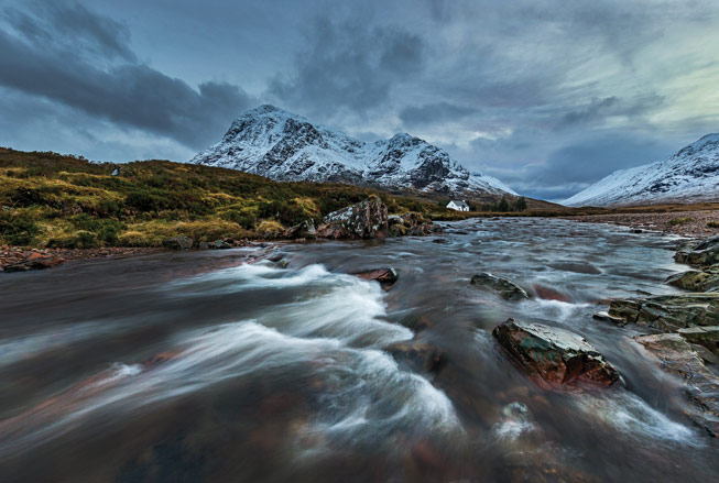 Lagangarbh Cottage. Credit: Shabaz Majeed, Scotland in Photographs