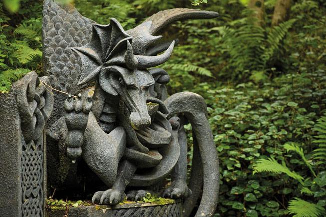 King Arthur's Labryinth. Credit: © Crown copyright (2016) Visit Wales