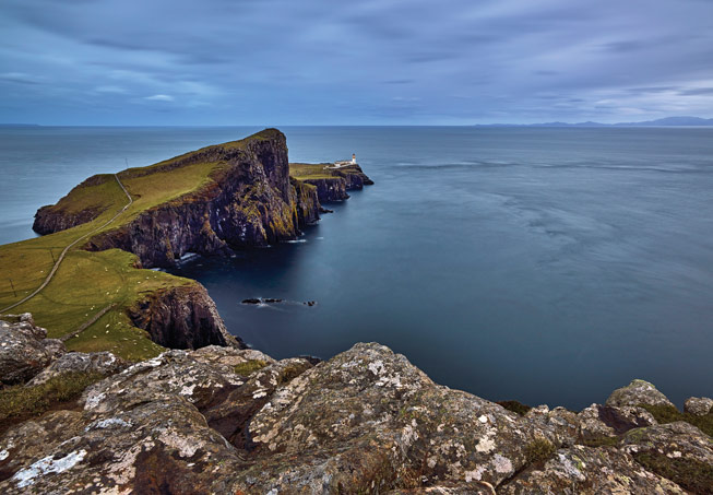 Neist Point Lighthouse. Credit: Shabaz Majeed, Scotland in Photographs
