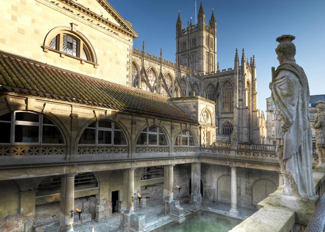 Roman Baths, Somerset. Credit: Colin Hawkins