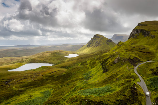 The Quiraing, part of the Trotternish ridge on the Isle of Skye. Credit: Visit Scotland