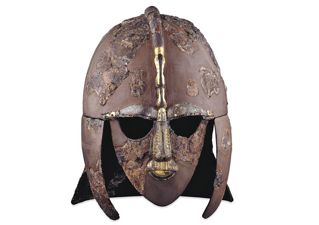 The-Sutton Hoo helmet. Rosetta Stone. Credit: The Trustees of the British Musuem