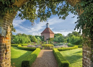 The Dovecote in the Walled Garden at Felbrigg Hall, Gardens and Estate, Norfolk. Credit: National Trust Images/Andrew Butler