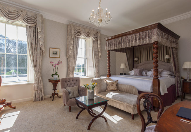 The Grand suite at Lucknam Park
