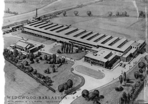 Wedgwood factory in Barlaston, Staffordshire. Credit: Images courtesy of Wedgwood