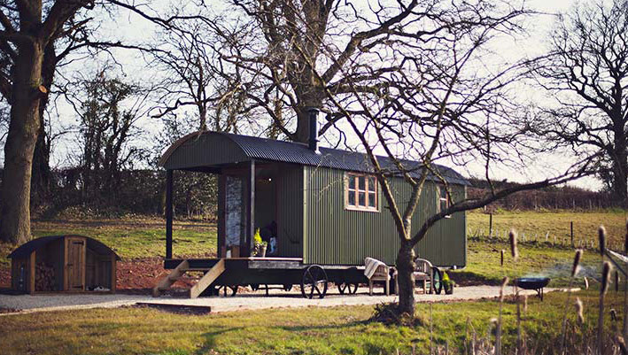 The Cwtch Hut, Usk, Brecon Beacons