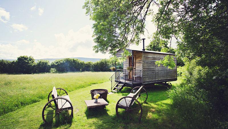 The Hot Tub Hideaway, Hay on Wye, Brecon Beacons