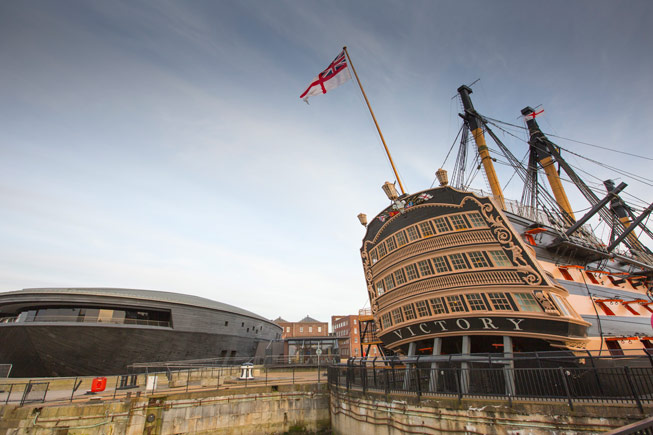 Portsmouth Historic Dockyards. Chris Stephens