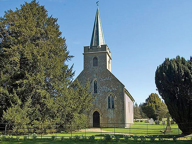 Village of Steventon in Hampshire