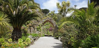 Tresco Abbey, Isles of Scilly. Credit: Steve Pill
