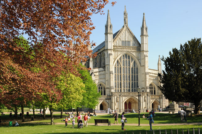Winchester Cathedral. Credit: Joe Low