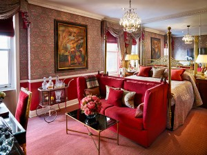 The V&A Suite at the Edgerton House Hotel, Knightsbridge