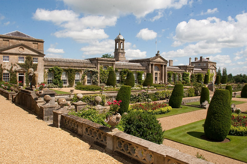The garden at Bowood was designed by Lancelot 'Capability' Brown