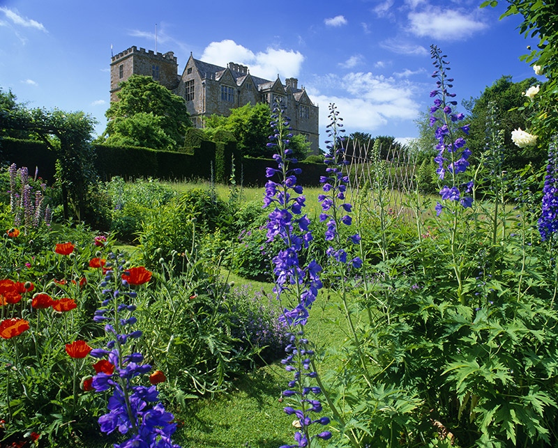The Jacobean house and garden at Chastleton, near Moreton-in-Marsh, Oxfordshire