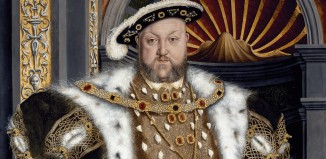 Hans Holbein the Younger's portrait of King Henry VIII, made by the artist's studio