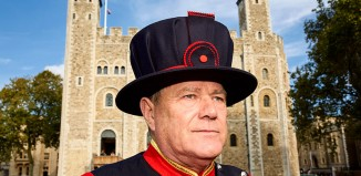 Yeoman Sergeant Jim Duncan, a Yeoman Warder or Beefeater