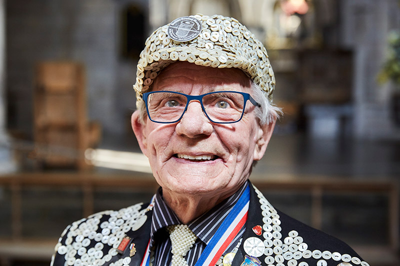 George Major, Pearly King of Peckham