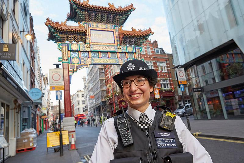 PC Isabella Grotto, Metropolitan policewoman
