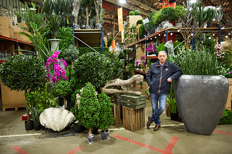 Peter Green, Covent Garden Market florist