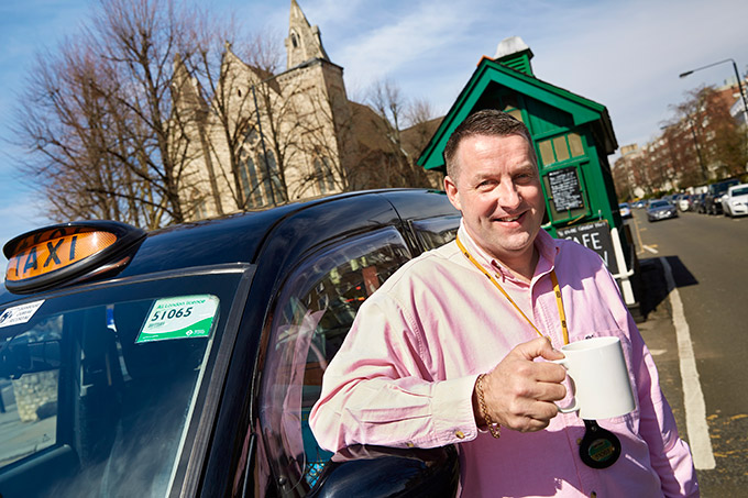 Paul Kirby, black-cab driver