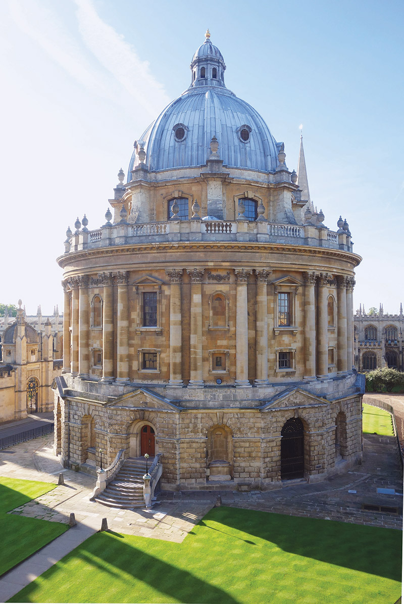 The Radcliffe Camera, part of the Bodleian Library