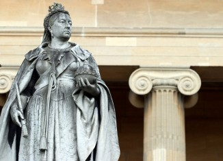 Queen Victoria statue in Worcester