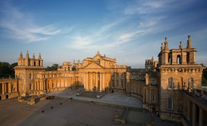 Blenheim Palace in Oxfordshire