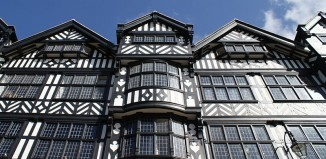 Chester's Tudor-style architecture
