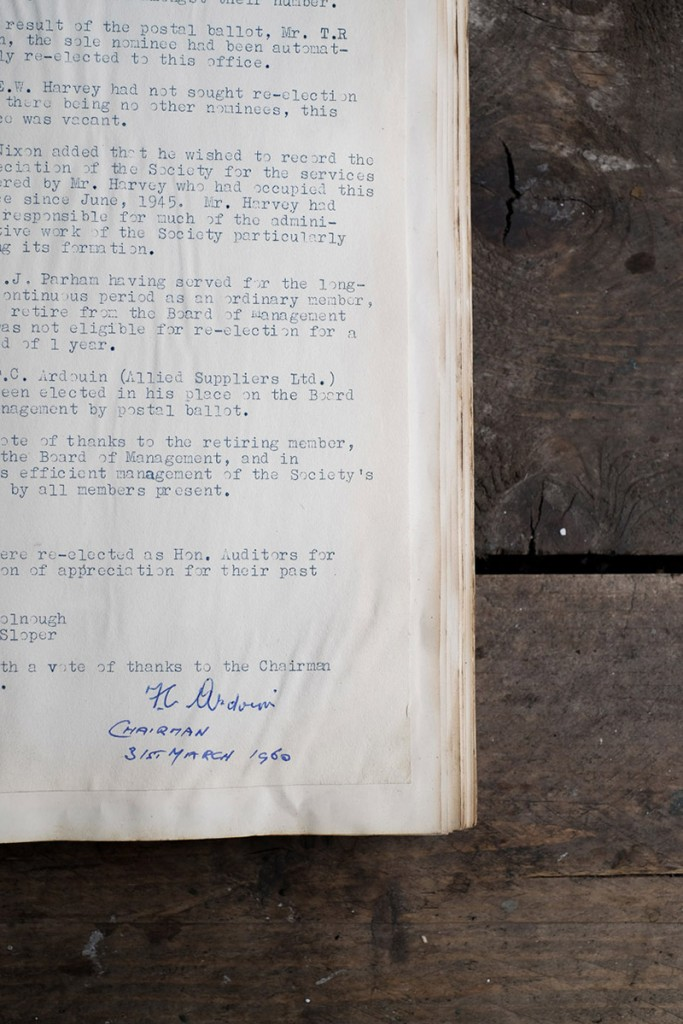 Coffee history documents