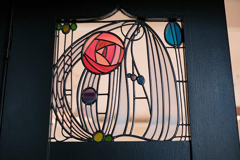 House for an Art Lover Mackintosh window