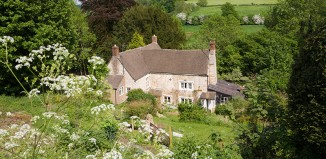 Rosebank Cottage was the childhood home of author Laurie Lee